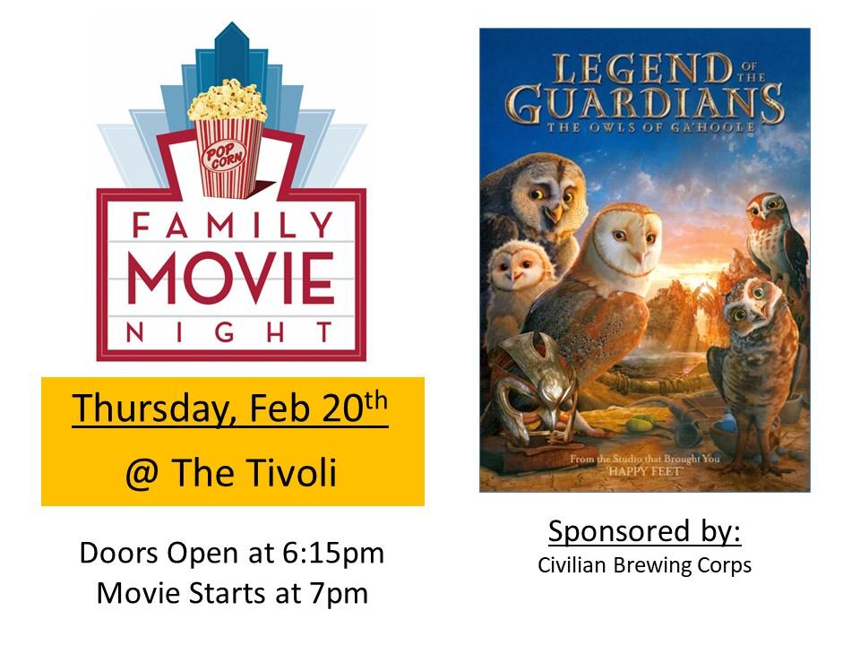 February Movie Night